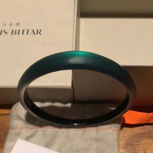 Brand new Alexis Bittar lucite bangle